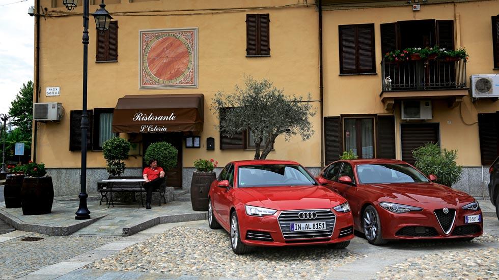 Audi A4 2.0 TDI vs Alfa Romeo Giulia 2.2 D, ¿cuál gana?