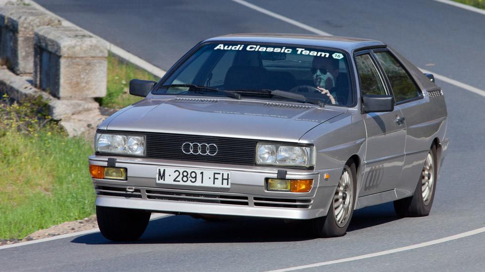 La historia de un coche deportivo mítico: el Audi Quattro