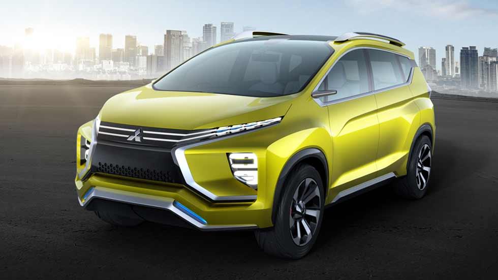 Mitsubishi XM Concept: un SUV con la versatilidad de un monovolumen