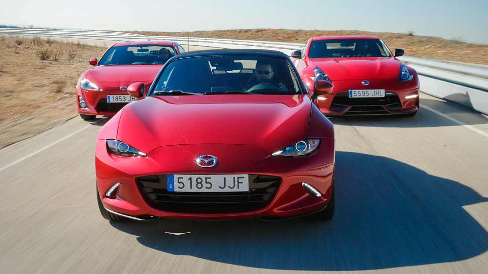 Mazda MX-5, Nissan 370Z Nismo y Toyota GT86: ¡diversión máxima!