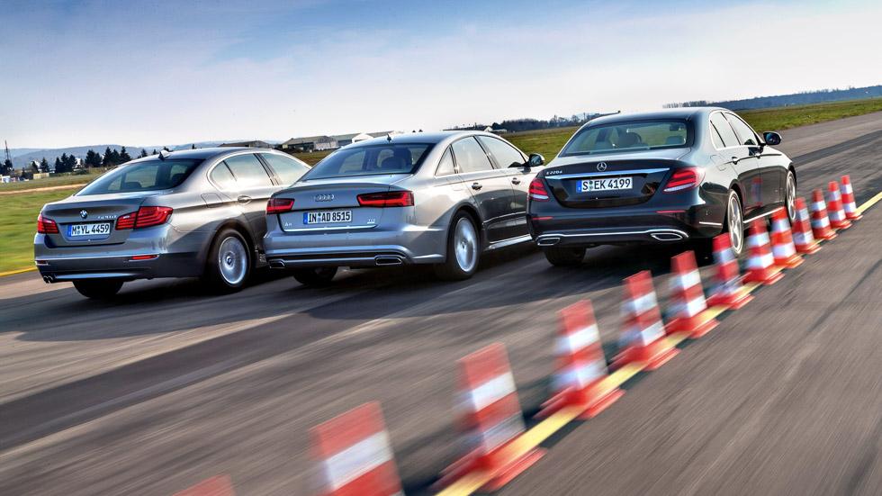 Audi A6 2.0 TDI, BMW 520d y Mercedes E 220 D, ¿cuál es mejor?