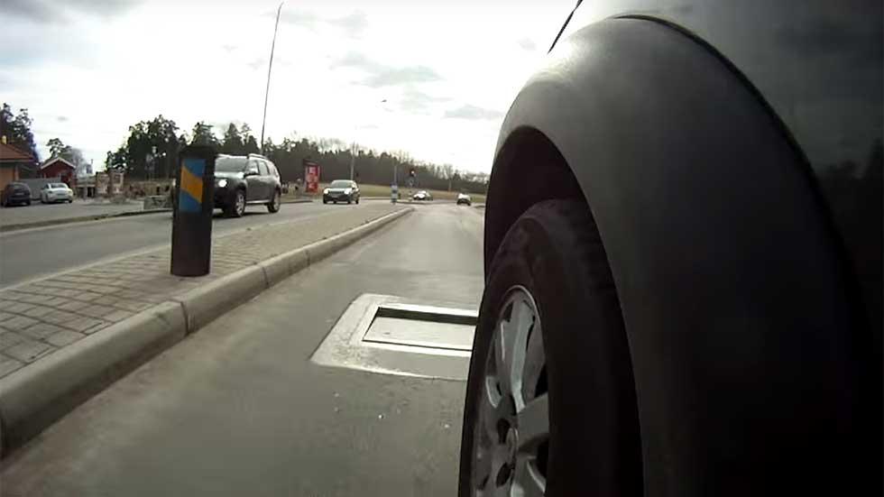 Badenes inteligentes: se activan si excedes la velocidad (Vídeo)