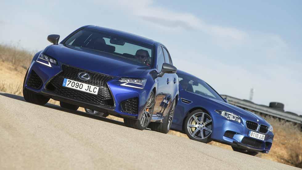 BMW M5 y Lexus GS F: ¿fuerza brutal o equilibrio?