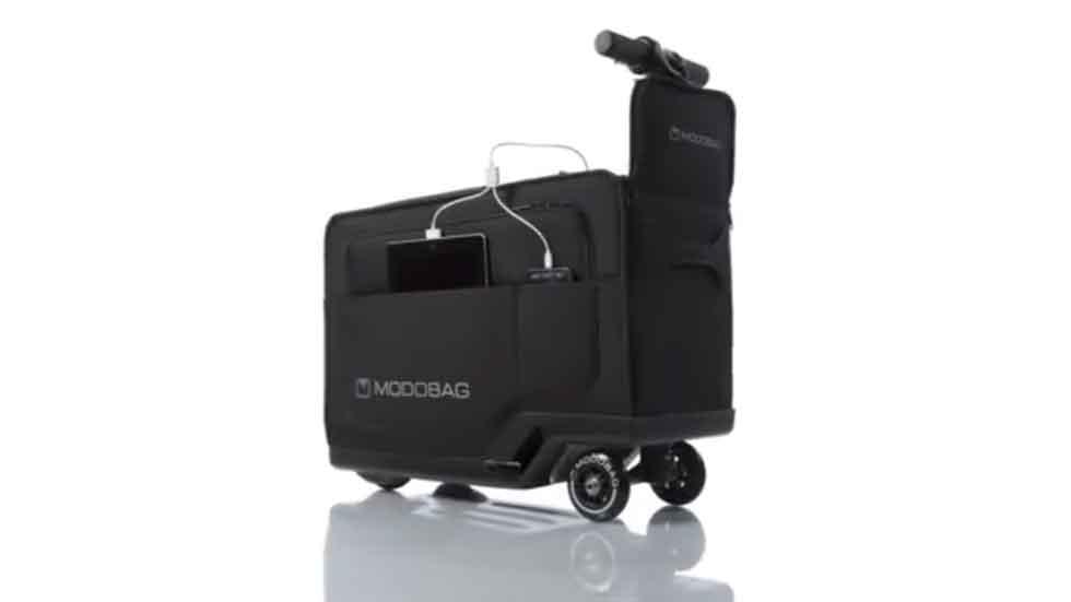 Vacaciones sobre ruedas: Modobag, la maleta con motor (vídeos)