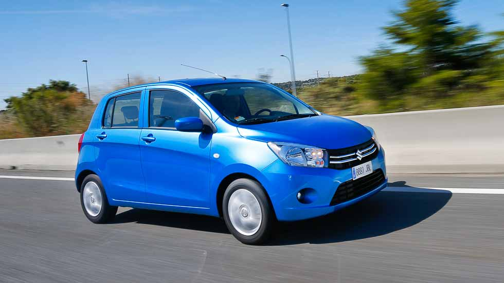 Consumos reales de coches: Suzuki Celerio 1.0