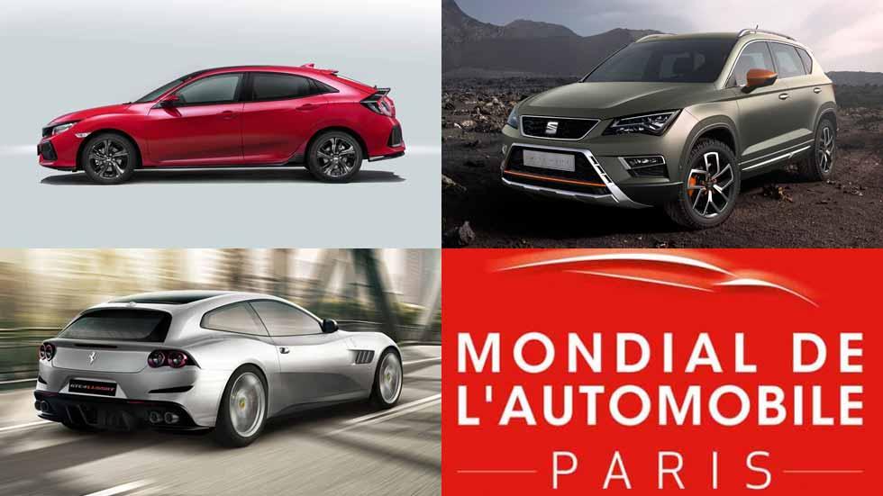 Salón de París 2016: todas las novedades de coches