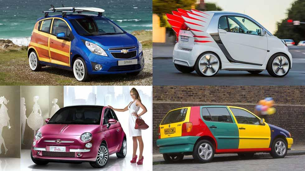 Las versiones de coches más especiales y llamativas