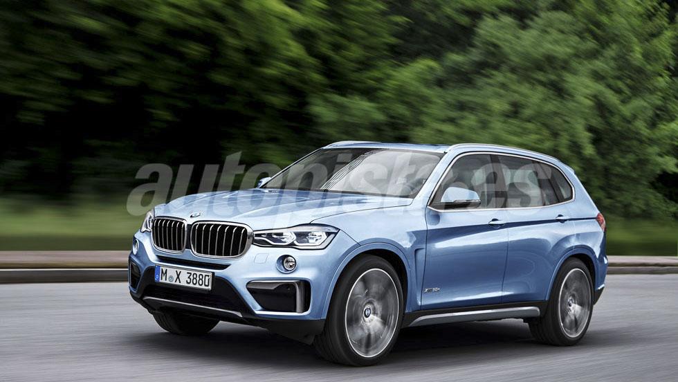 BMW X3 2017: así será la nueva generación del SUV