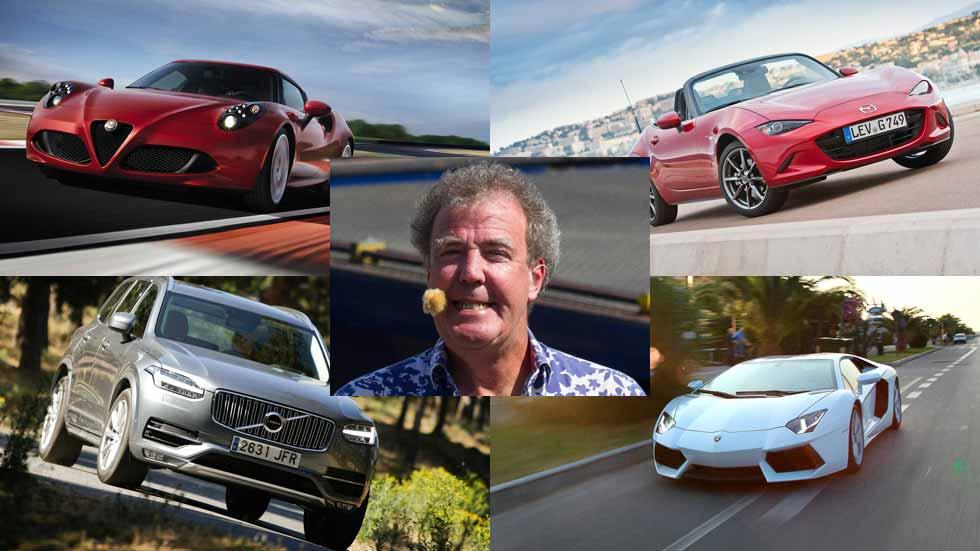 Los 10 mejores coches del mercado, según Jeremy Clarkson