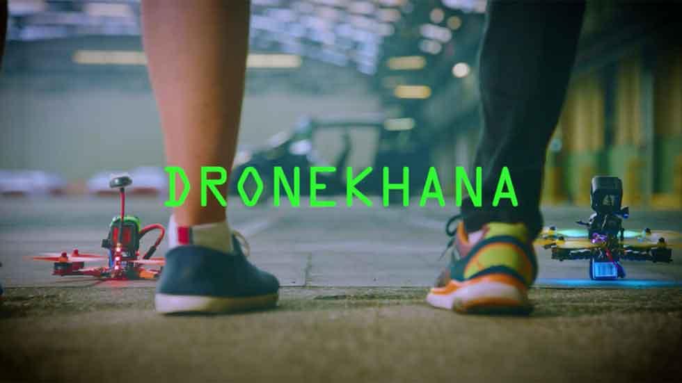 Dronekhana One: drones contra un Ford Mustang y un Focus RS (vídeo y fotos)