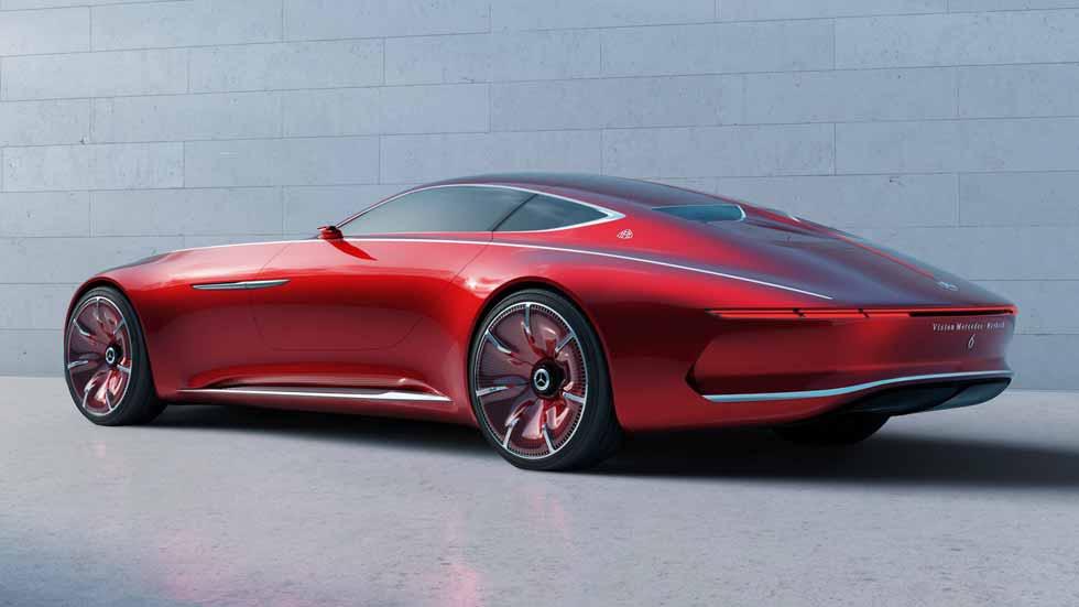 Vision Mercedes-Maybach 6: el coupé del futuro es eléctrico