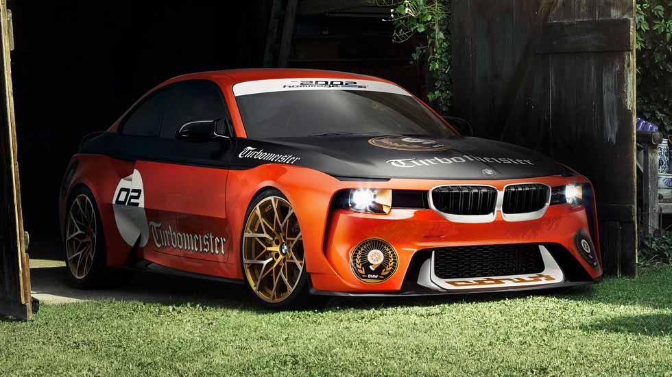 BMW 2002 Hommage Pebble Beach Concept: aún más deportivo