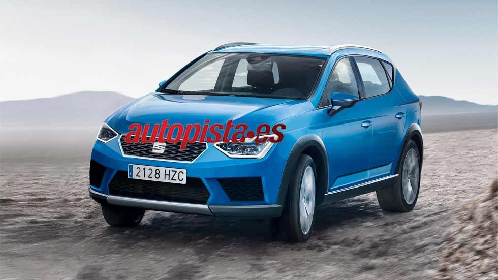 Seat Arona: así será el nuevo SUV pequeño para 2017