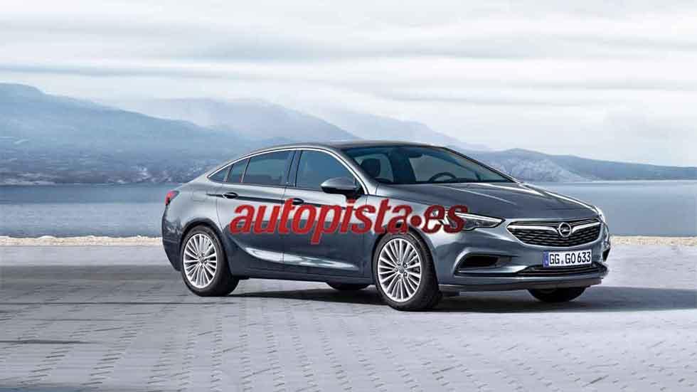 Opel Insignia 2017: así será la nueva generación