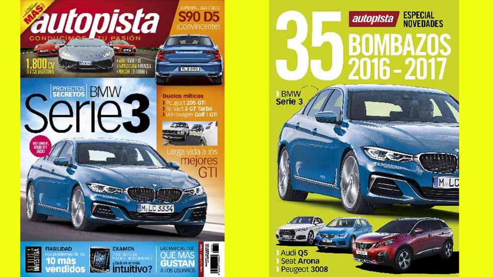 Revista Autopista 2972: los mejores coches que llegarán en 2016 y 2017