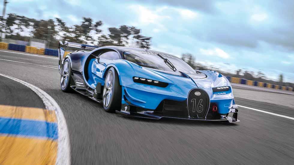 Bugatti Veyron Vision Gran Turismo: a prueba un coche de ciencia ficción
