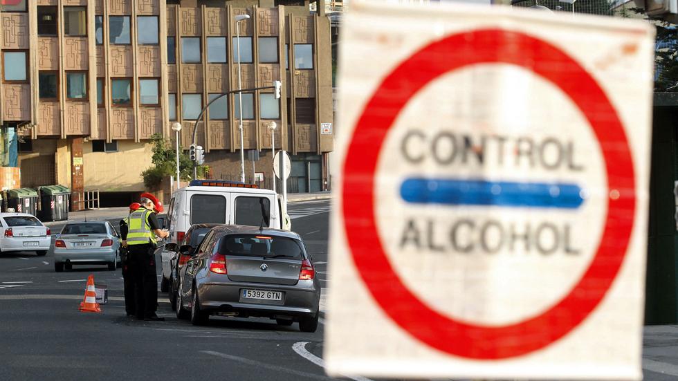 Un vasco, récord de alcohol en sangre al volante, ¿cómo es posible?