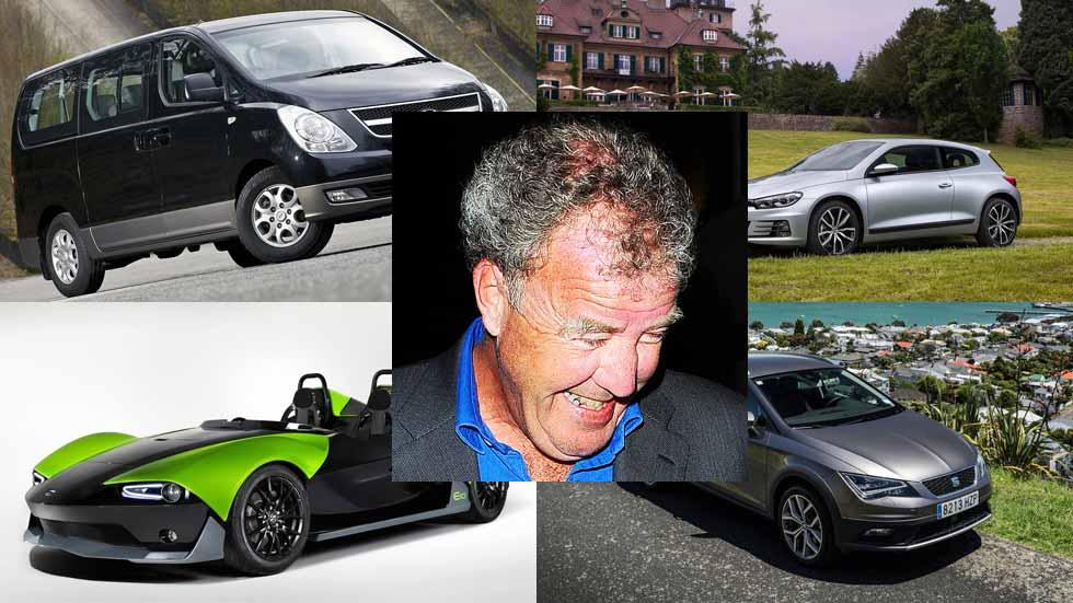 Los 10 peores coches del mercado, según Jeremy Clarkson