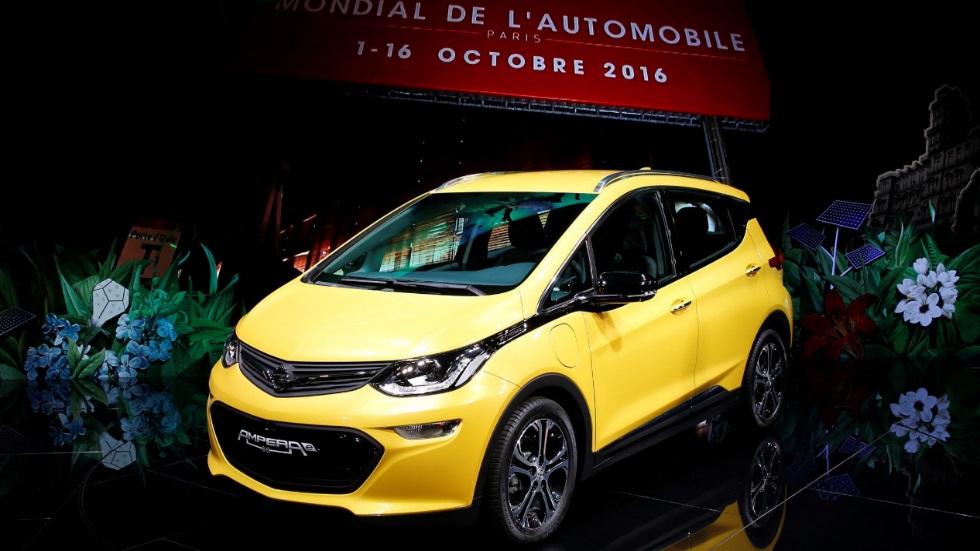 Salón de París 2016: Opel Ampera-e, ahora eléctrico puro