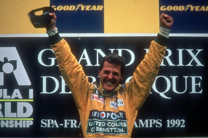 Michael Schumacher: 25 años de su debut en la Fórmula 1