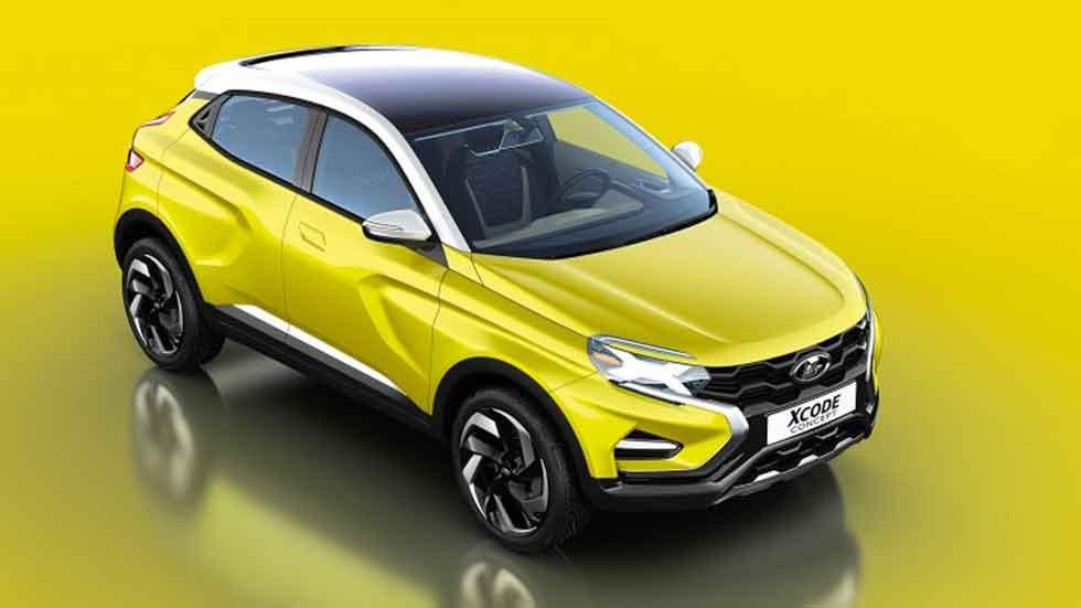 Lada X-Code, el nuevo SUV pequeño ruso