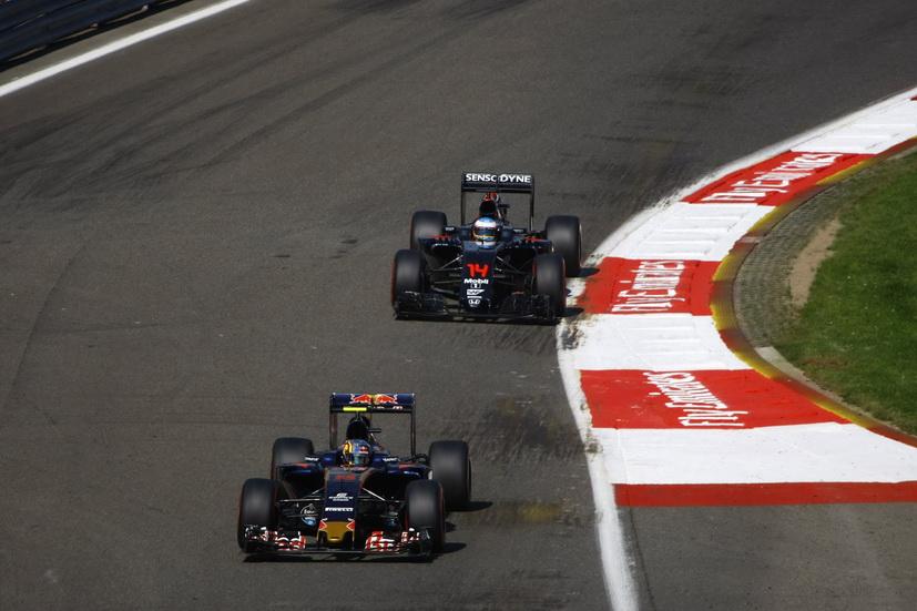 Gran Premio de Bélgica: Carlos Sainz en calificación