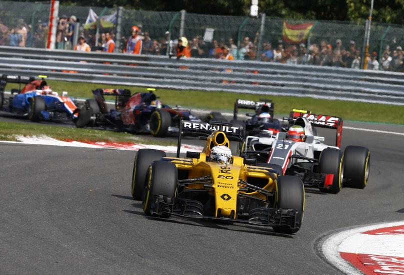 Gran Premio de Bélgica: Kevin Magnussen es trasladado al hospital