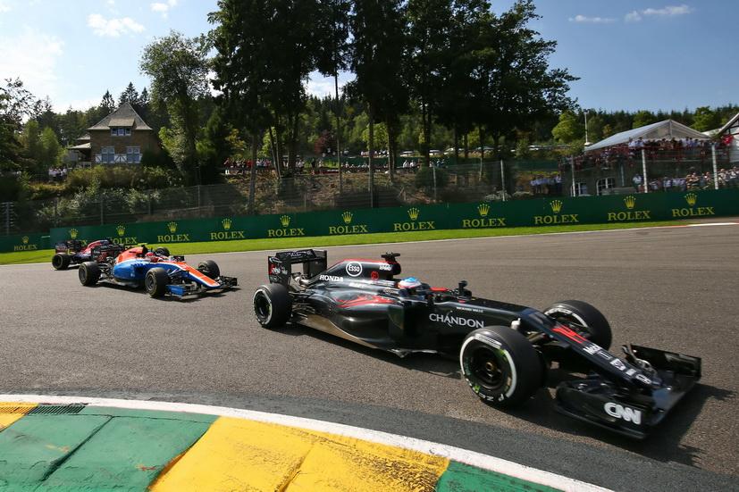 Gran Premio de Bélgica: Fernando Alonso en los puntos