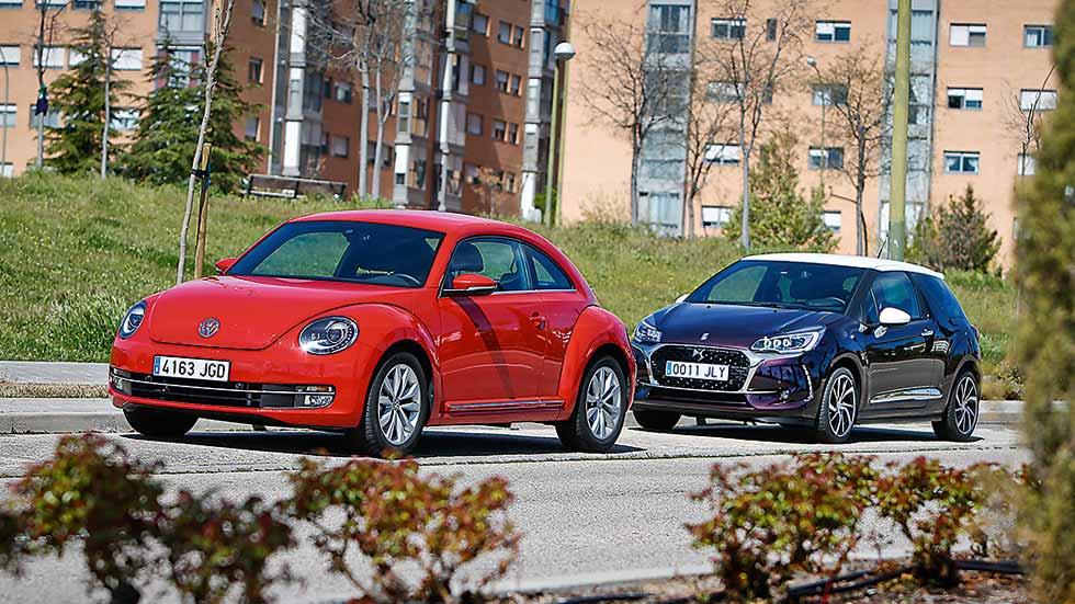 Volkswagen Beetle y DS 3: ¿cuál gana?