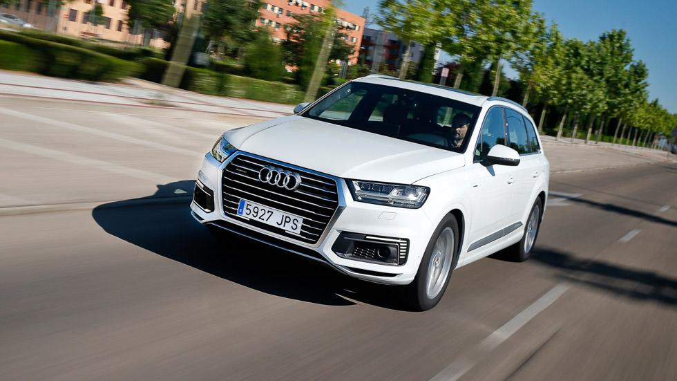 Audi Q7 e-tron quattro: híbrido enchufable, Diesel y 4x4