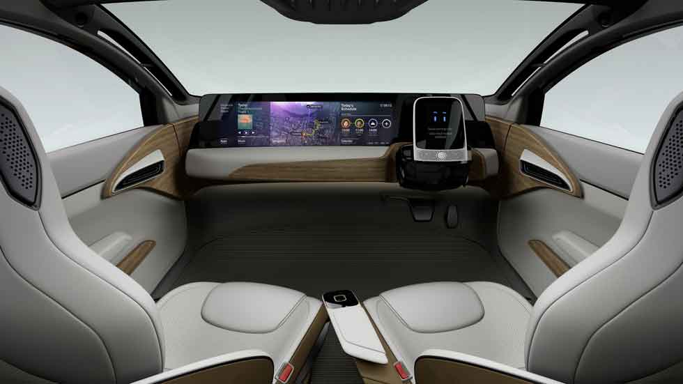 ¿Cómo será el interior de un coche autónomo?