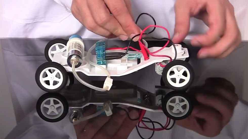 Llegan los coches teledirigidos de hidrógeno (vídeo)