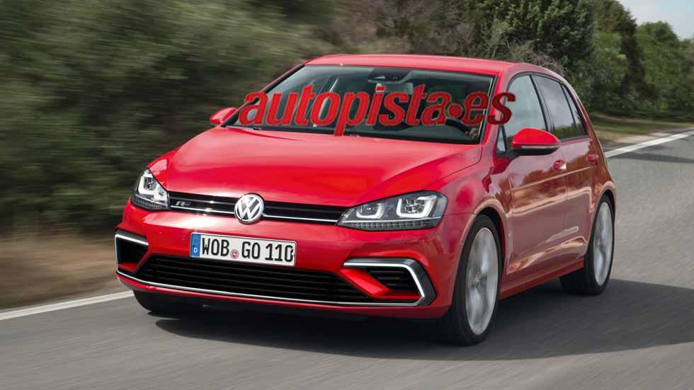 Volkswagen Golf 2017: primeras fotos del exterior y del interior