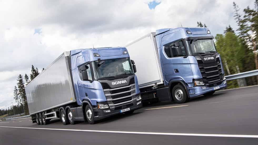Nuevos camiones Scania 2017 con cabina de piso plano integral
