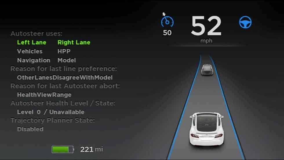 Nuevas funciones en el sistema Autopilot de Tesla