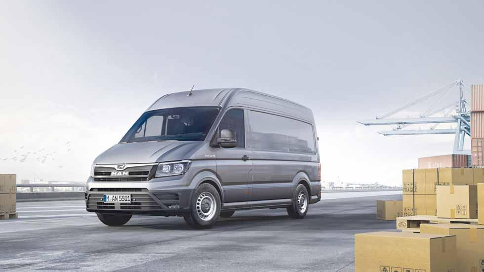 MAN TGE, una nueva furgoneta para 2017