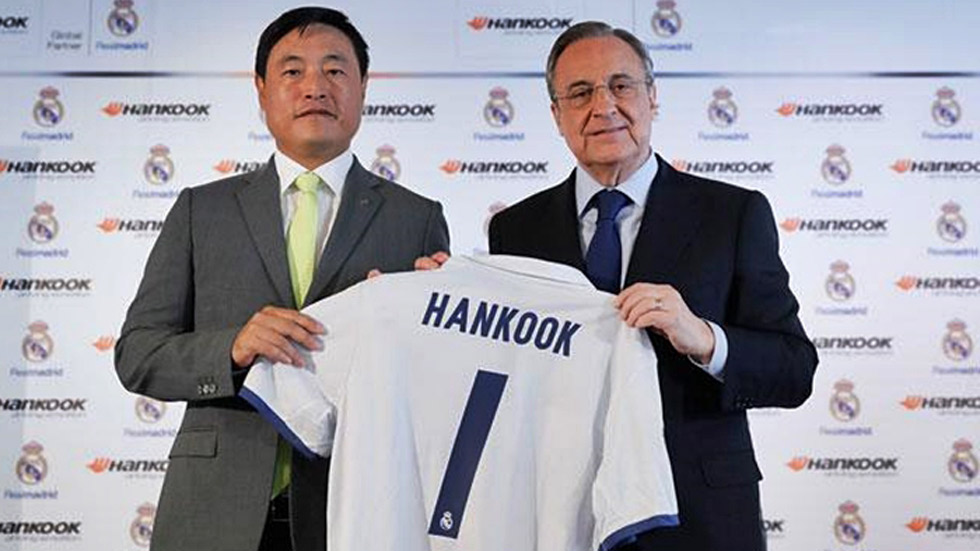 El Real Madrid ficha a Hankook por tres temporadas