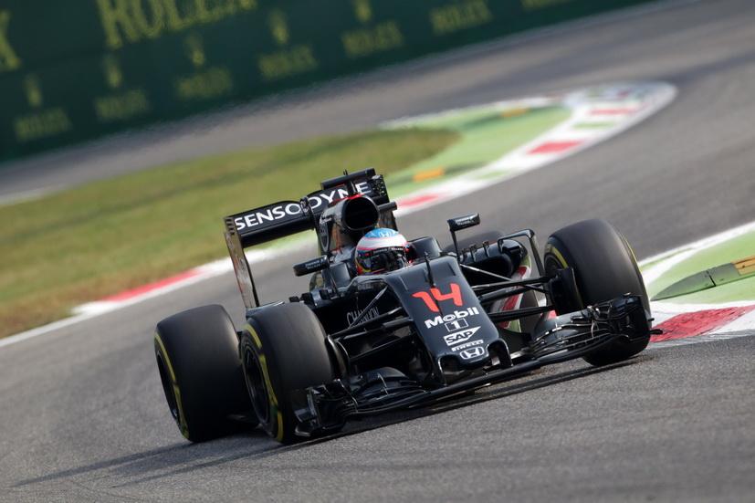 Gran Premio de Italia: Fernando Alonso entre los diez primeros