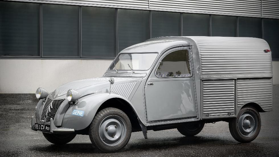 El mítico Citroën 2CV Furgoneta cumple 65 años