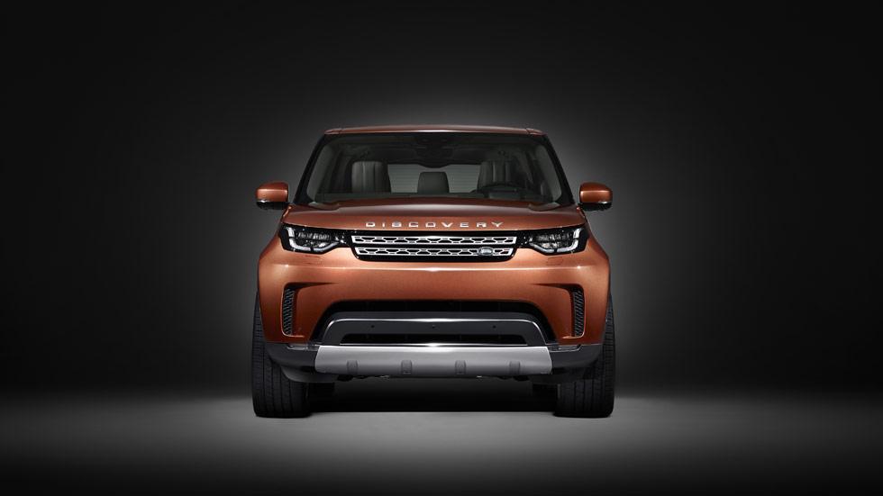 Land Rover Discovery 2017: estreno en el Salón de París