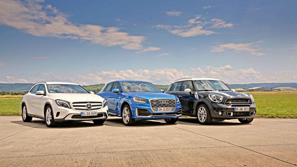 Revista Autopista 2973: Audi Q2 frente a Mini Countryman y Mercedes GLA