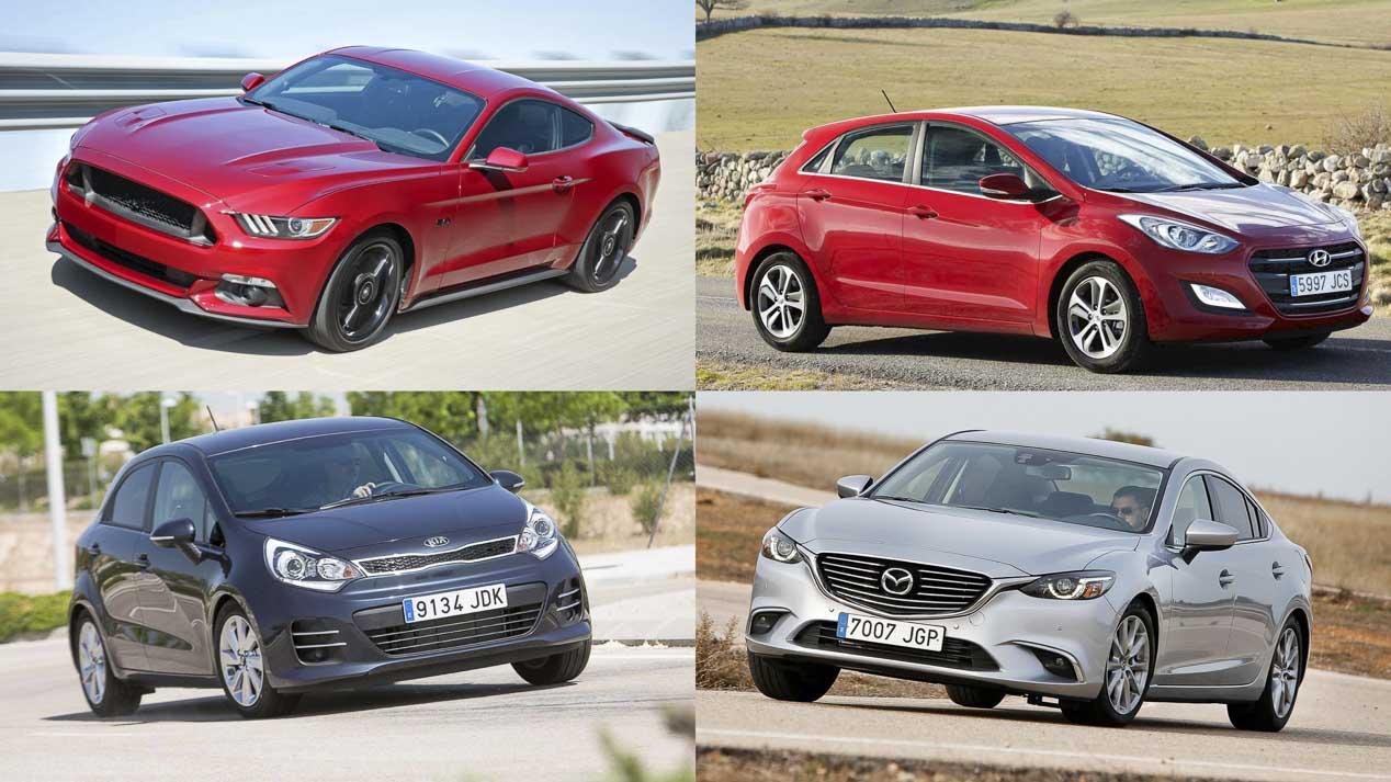 Las 10 marcas y los 10 modelos de coches más valorados