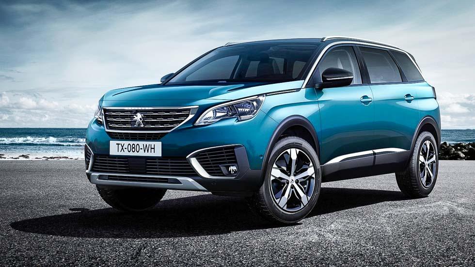 Peugeot 5008: nuevo SUV de 7 plazas para el Salón de París