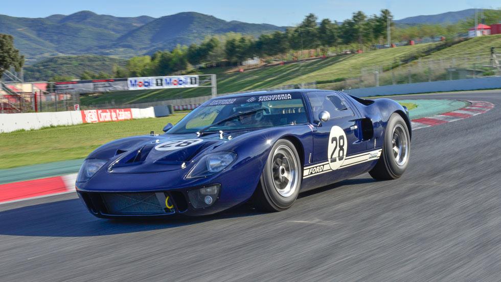 Coches para el recuerdo: Ford GT40