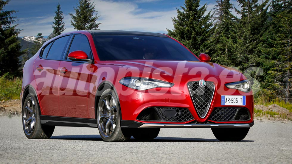 El primer SUV de Alfa Romeo, el Stelvio, se verá en noviembre