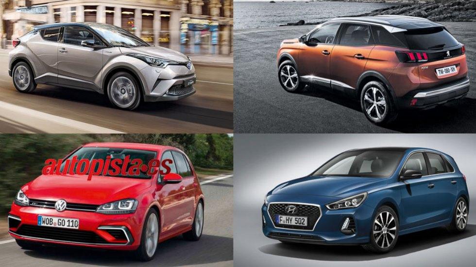 Los mejores coches compactos que llegarán en 2016 y 2017