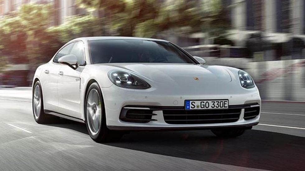 Porsche Panamera 4 E-Hybrid: sólo 2,5 l/100 km