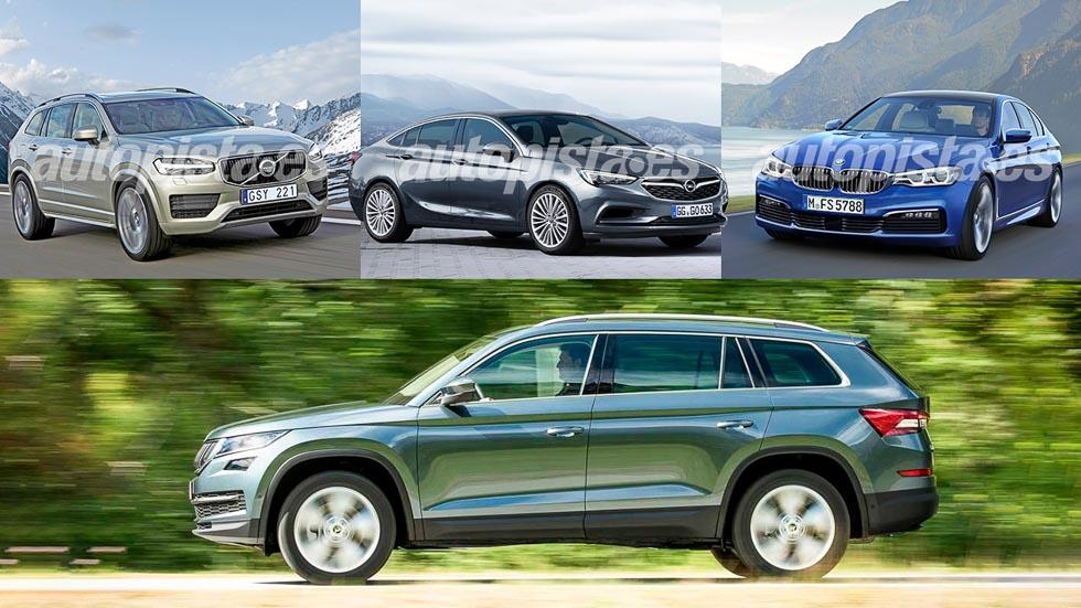 Las mejores berlinas y SUV medios que llegarán en 2016 y 2017