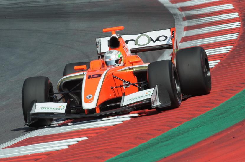 Alfonso Celis fue cuarto en la V8 celebrada en Austria