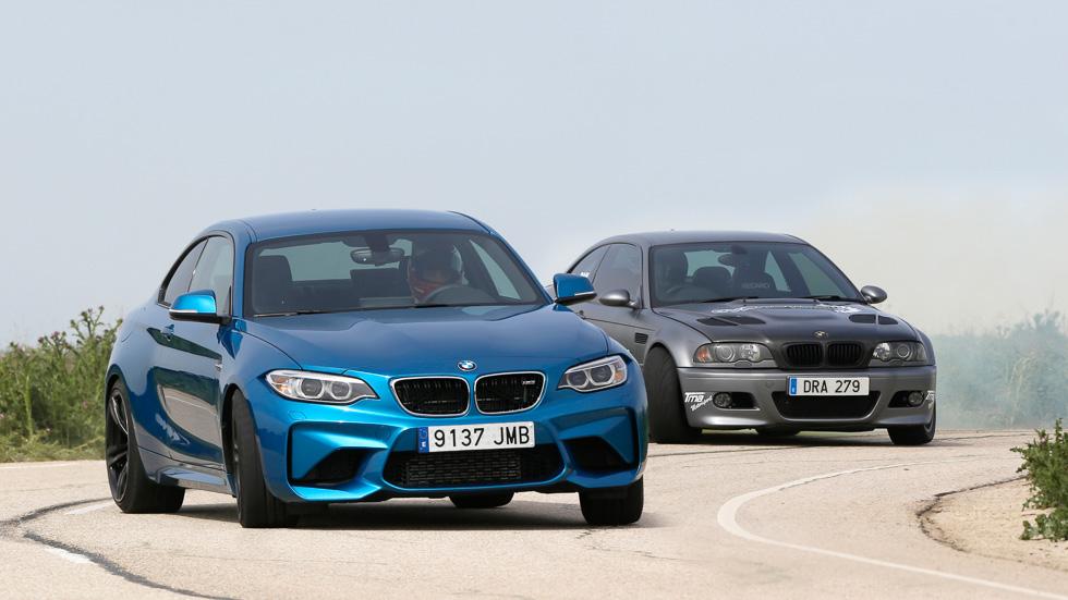 ¿Cuál es más rápido? ¿El BMW M2 o el BMW M3 Drift de Dan Adams?